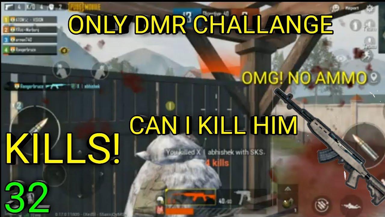 Seul défi DMR dans TDM.OMG !!!!! Pas de munitions Que vais-je faire