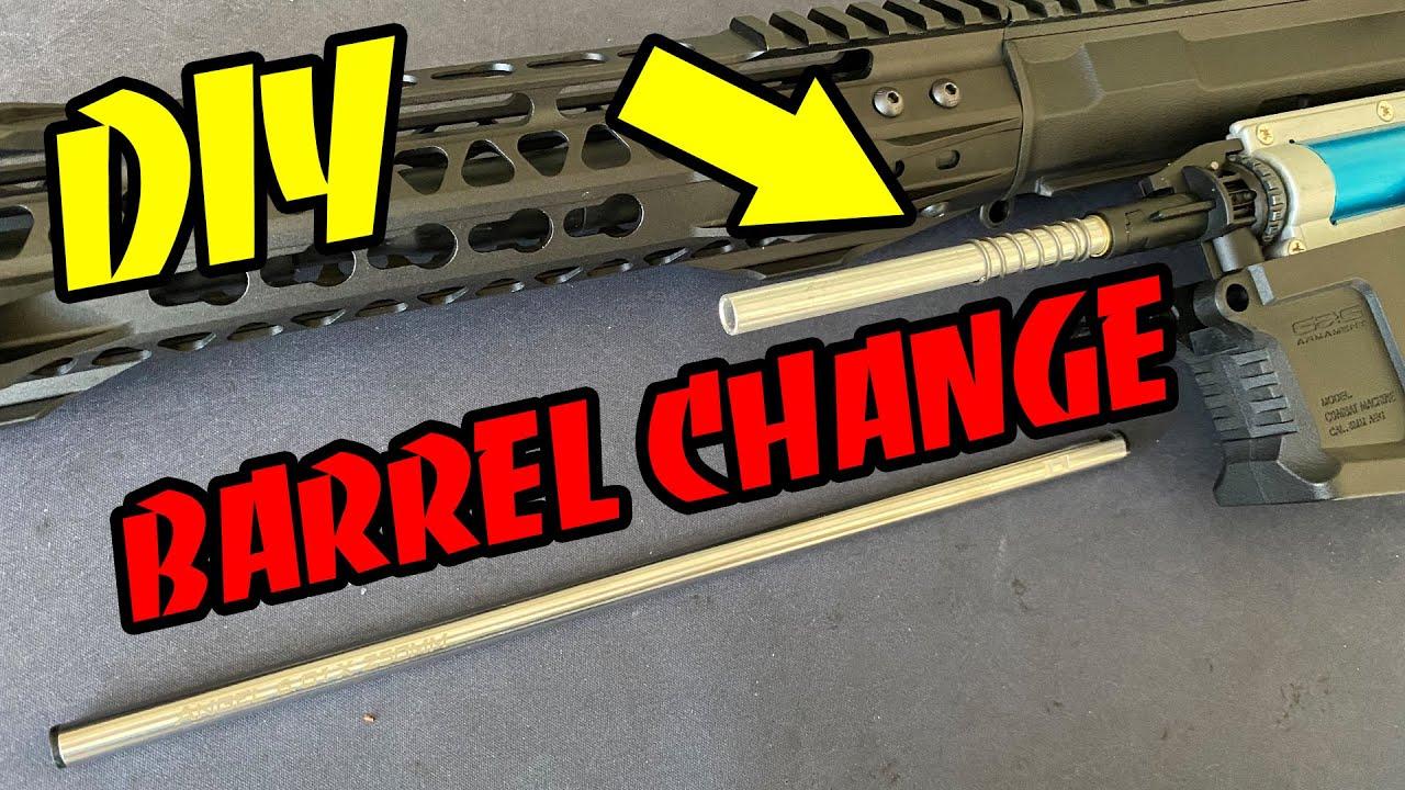 Comment installer / changer le canon intérieur sur un G&G ARP9 – Airsoft