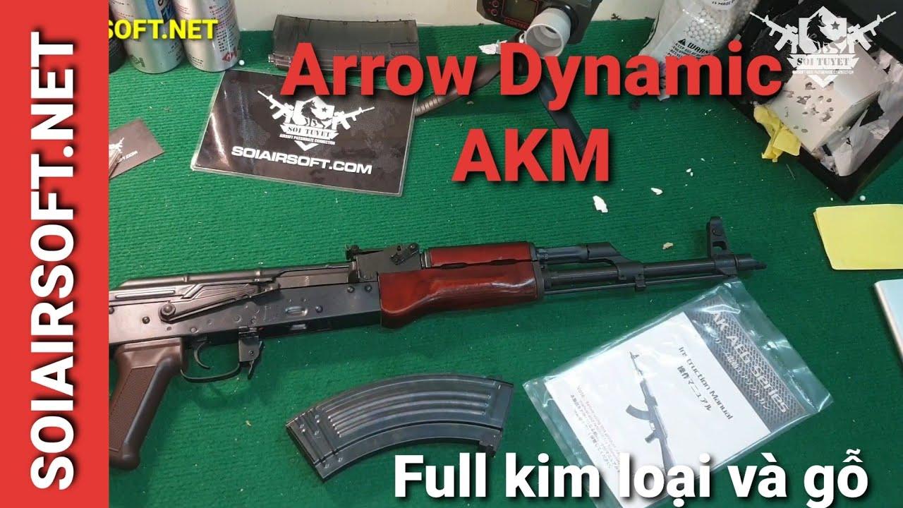 # SOIAIRSOFT.NET – Pistolets Arrow Dynamic AKM Airsoft avec pistolet général à bas prix