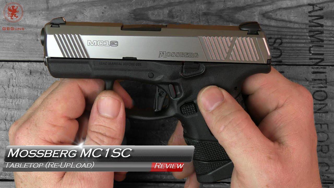 Revue de table et bande de terrain Mossberg MC1SC