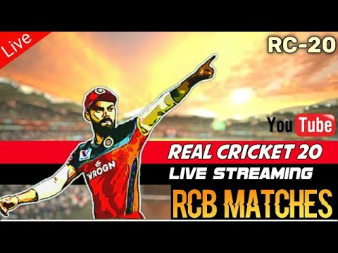 Real Cricket 20 Live IPL Match Streaming en direct