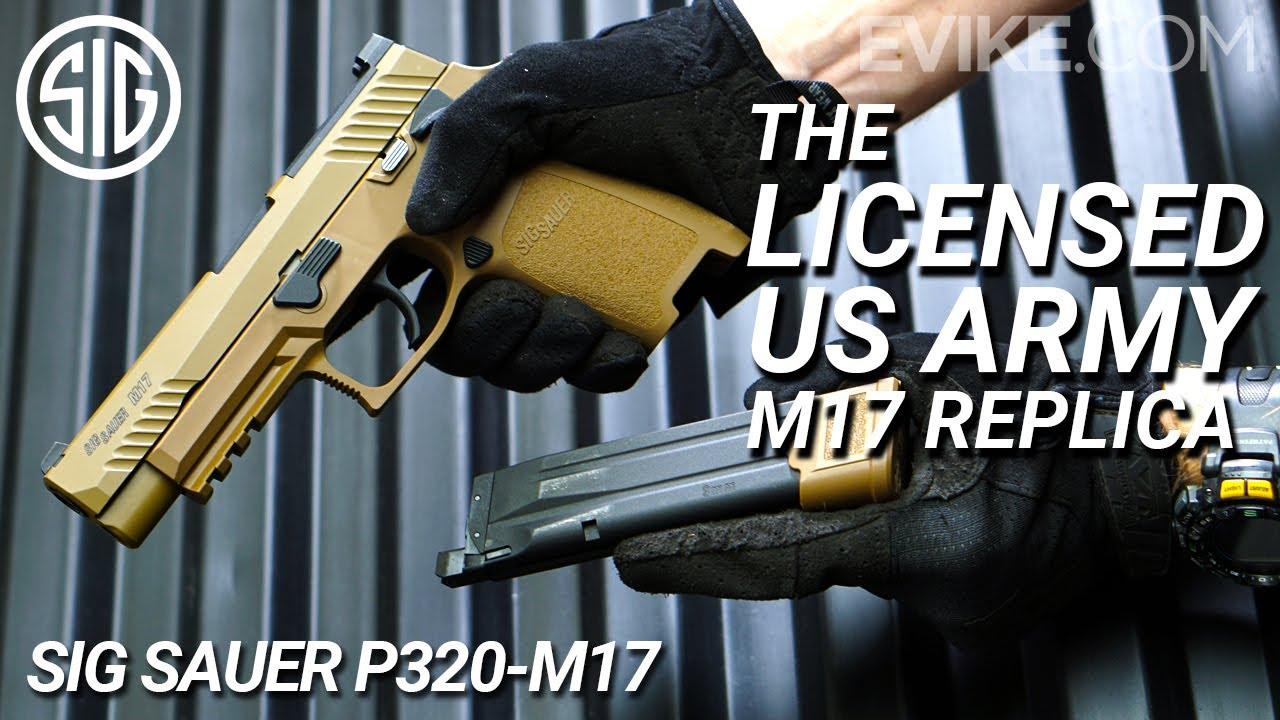 Réplique sous licence de l'armée américaine M17 – Pistolet SIG Sauer P320 M17 GBB – Critique