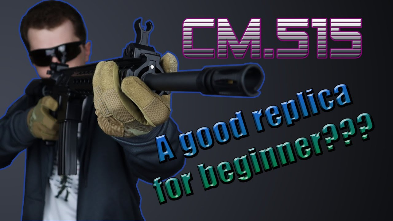 Critique d'Airsoft | Réplique pour un débutant? Cyma CM.515