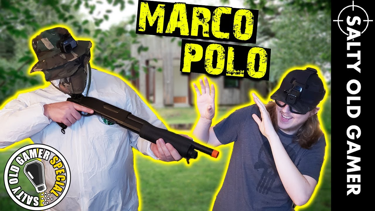 POLO MARCO FUSIL AIRSOFT! | SaltyOldGamer LOCKDOWN Special