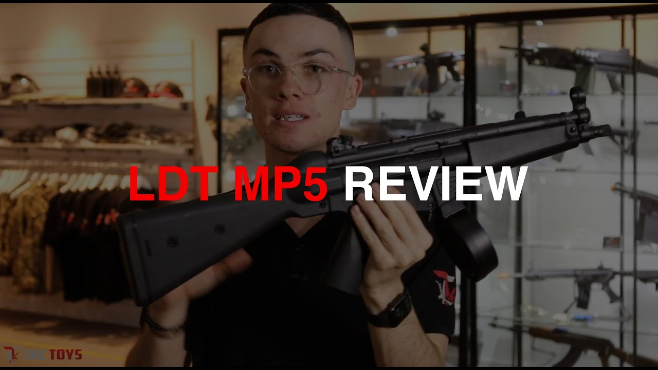 Critique de LDT Warinterest MP5 Gel Blaster | TacToys