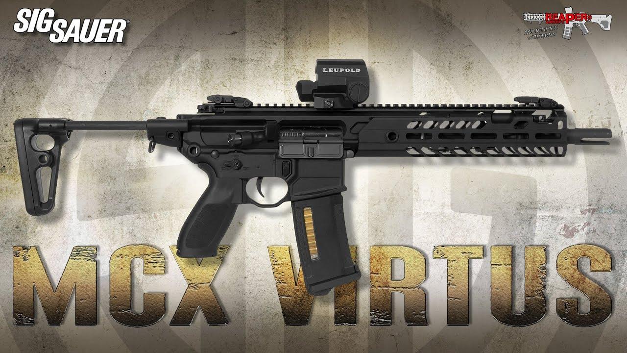 [Review] VFC | SIG SAUER MCX Virtus – Test Airsoft / Softair S-AEG 6 mm (allemand, DE)