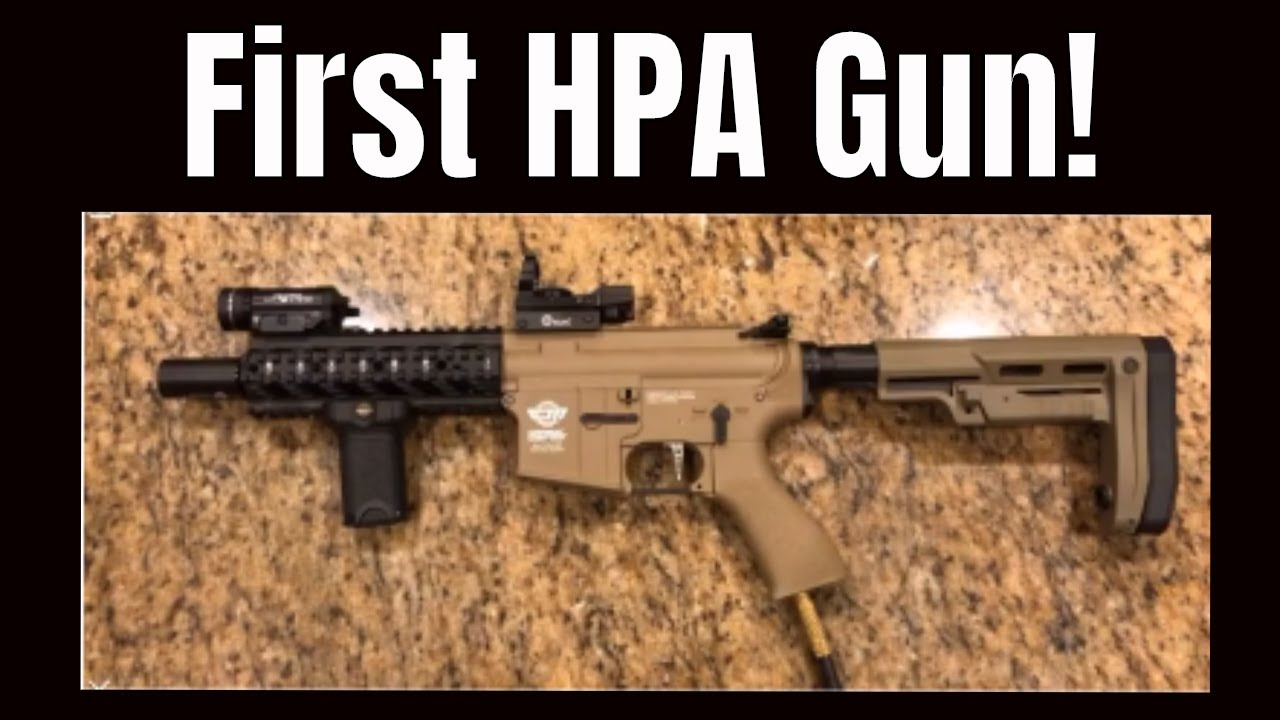 Mon premier pistolet HPA Airsoft! (Comment je l'ai eu)