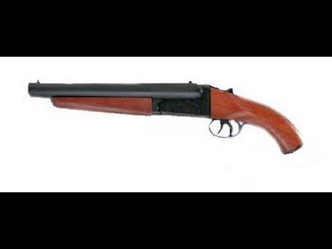 revue de fusil de chasse airsoft mad max double canon