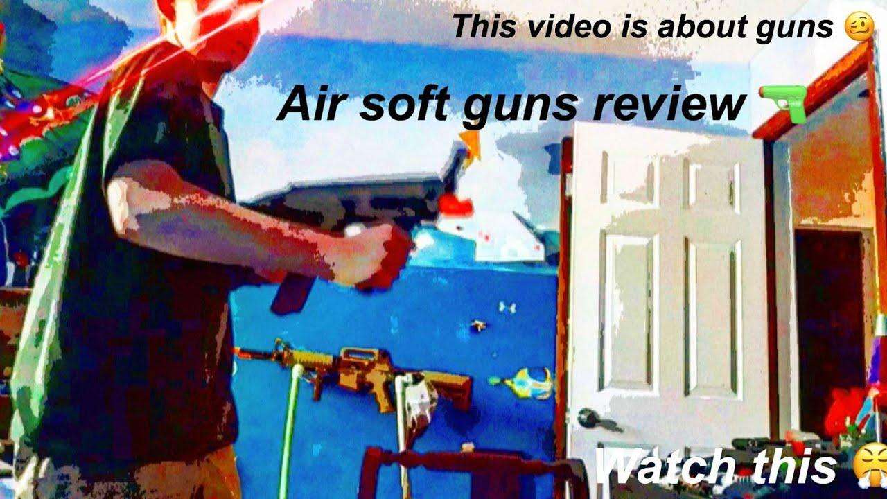Ma revue des pistolets airsoft