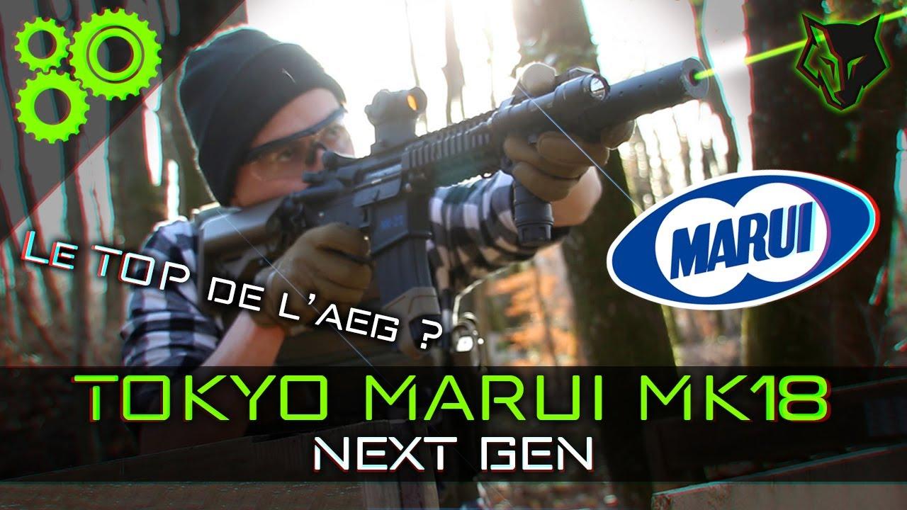 Le meilleur EBBR du marché ? Tokyo Marui MK18 Next Gen Review ► TEAM IS 38 | AIRSOFT