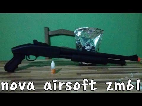 Montrant mon nouveau fusil court airsoft zm61 cyma. Avis sur Airsoft Shortgun ZM61 Cyma