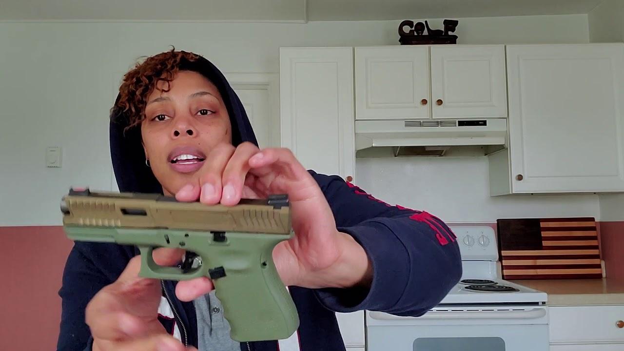 Glock 19: Une belle combinaison de couleurs