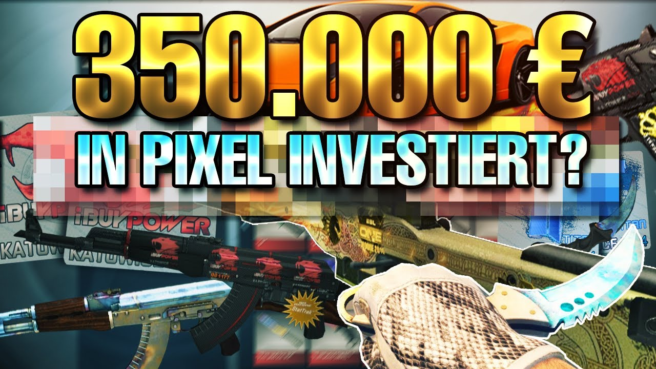 350 000 EURO investis dans PIXEL?! biBa CS: GO INVENTORY 2020