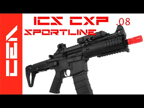 Carabine Airsoft – AEG ICS CXP .08 Avis