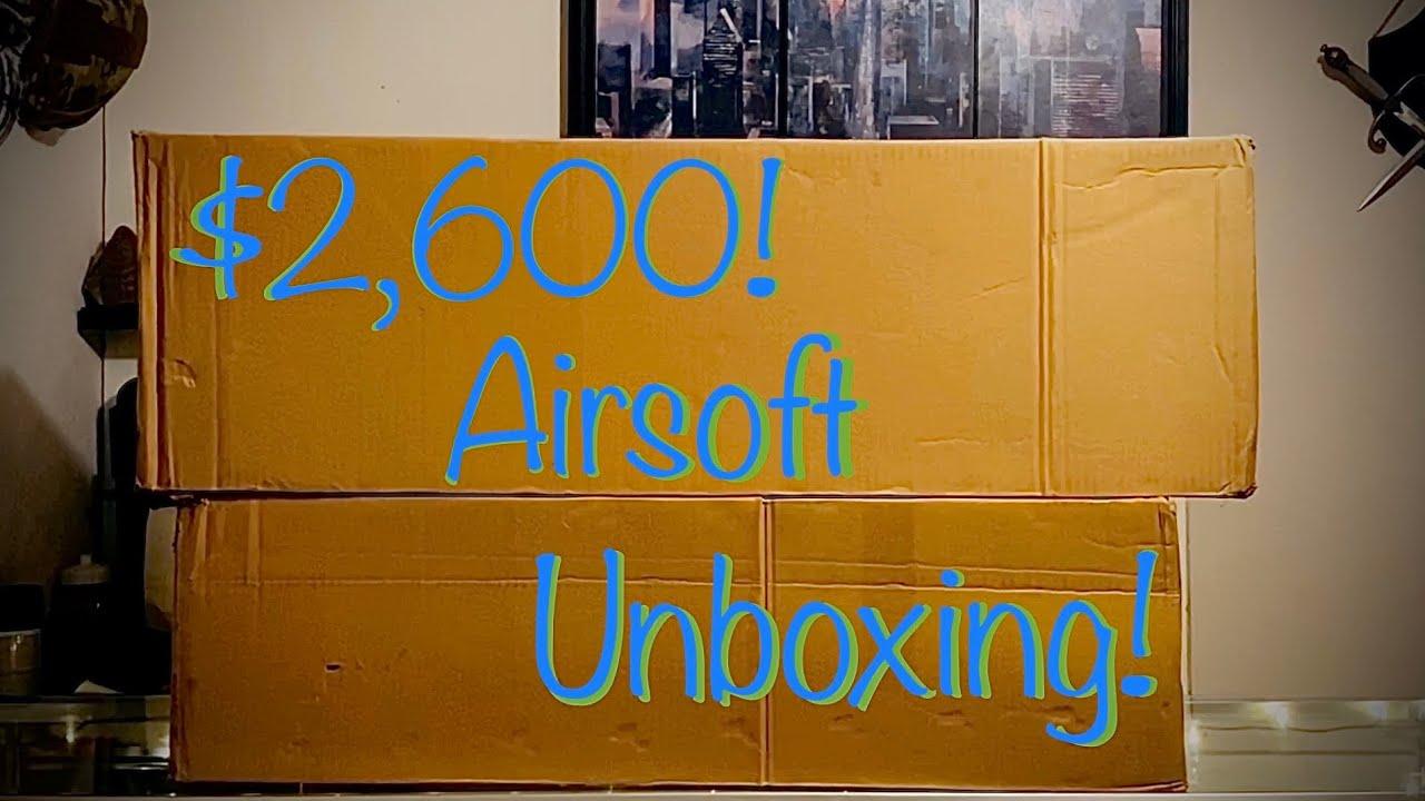 2600 $ DÉBALLAGE AIRSOFT ULTIME !!!