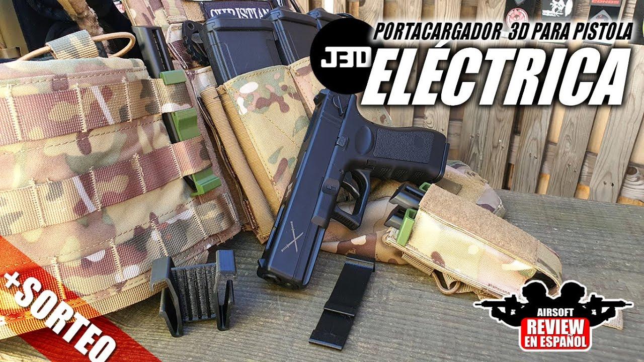 Porte-revues J3DPrint 3D pour pistolets électriques + DRAW   Revue Airsoft en espagnol