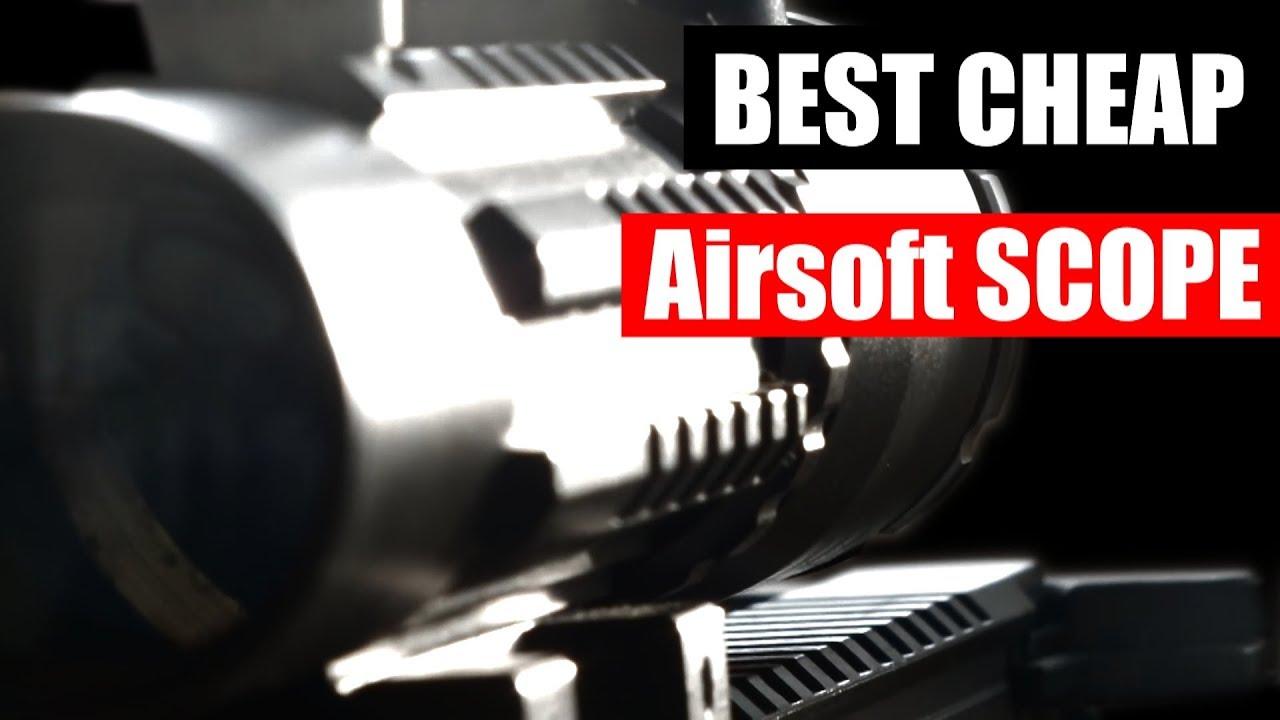 Meilleur Airsoft Scope pas cher – REVUE