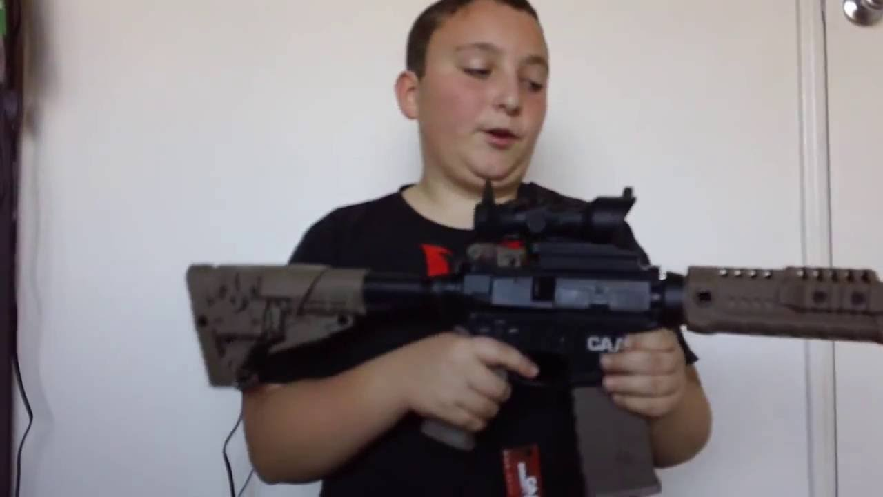 CAA M4 Airsoft Review