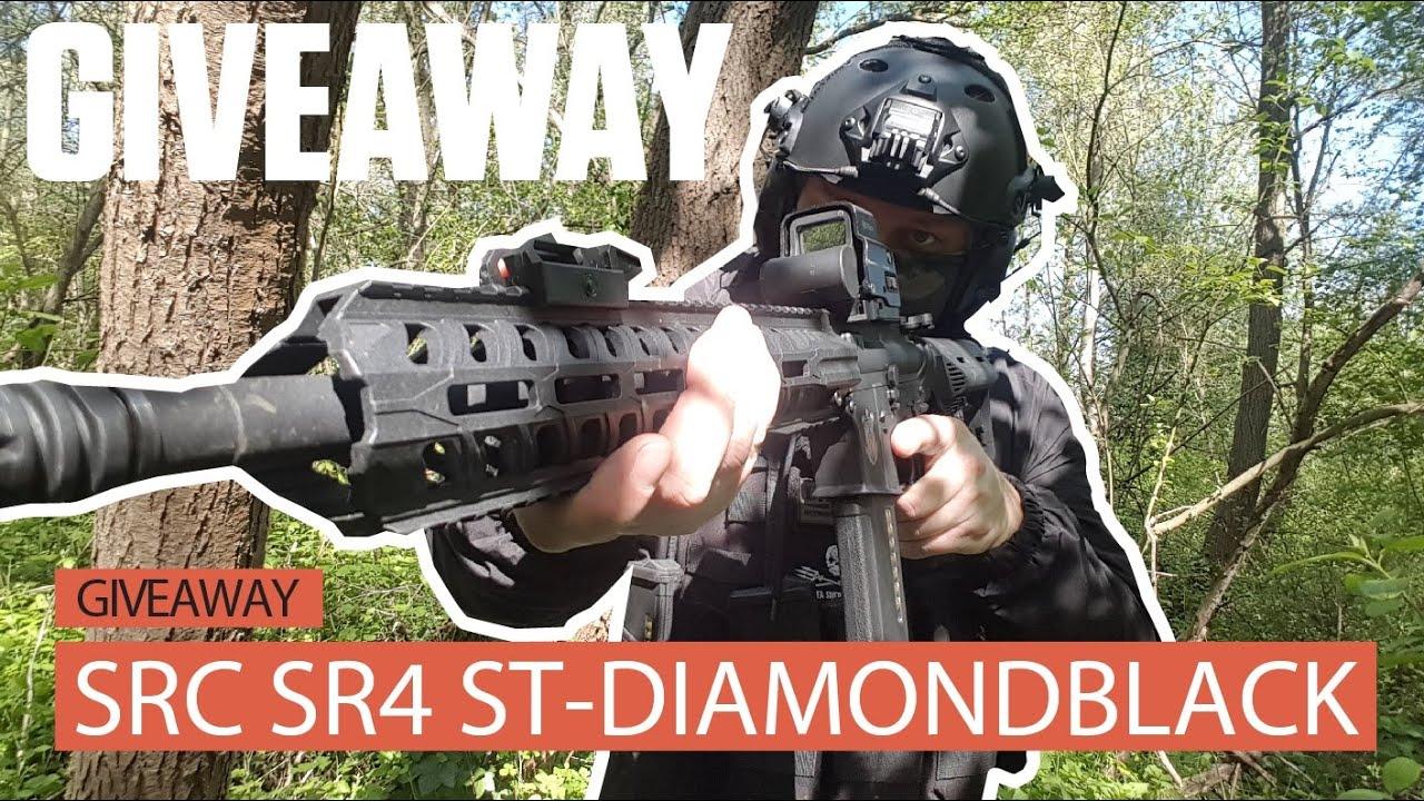 UNIT13 GIVEAWAY: GAGNEZ UN SRC SR4 ST DIAMONDBLACK + REVIEW