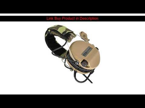 Examen Tactical Softair Sordin Headset Pickup Casque antibruit de chasse Airsoft Hearing pr