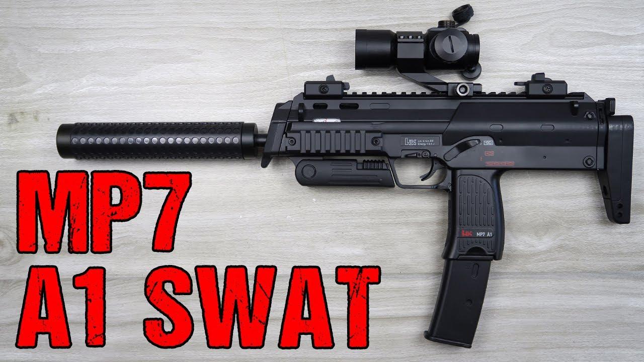 Umarex MP7 A1 SWAT Airsoft critique | allemand