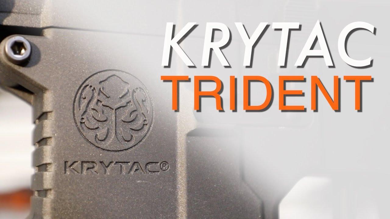 Examen de la gamme de répliques Airsoft Krytac Trident