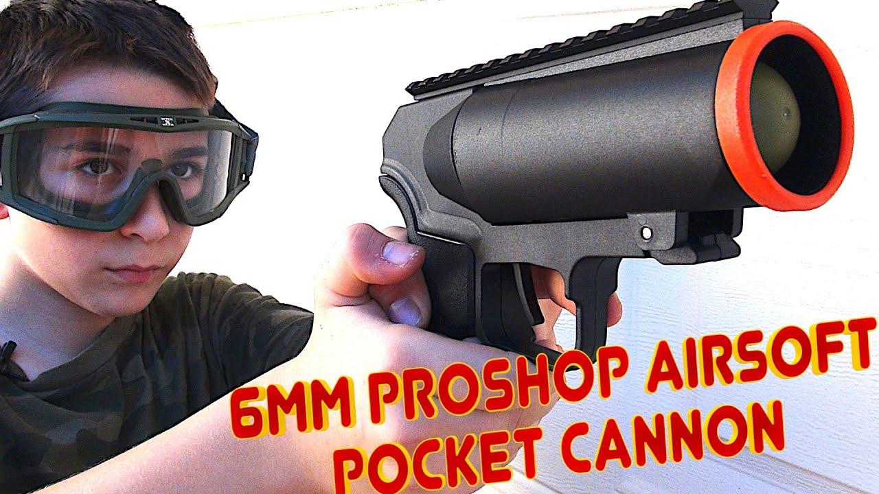 6mmProShop Airsoft Pocket Cannon Pistolet lance-grenades à gaz de 40 mm avec Robert-Andre!