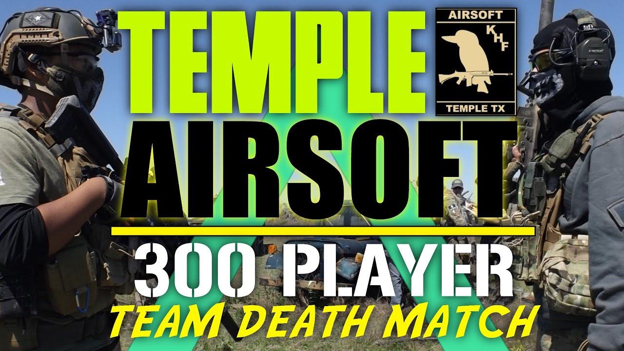 Journée d'appréciation des joueurs de Temple Airsoft! – Match à mort de l'équipe du Texas