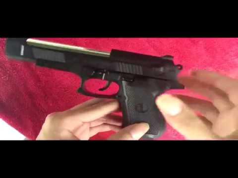 comment convertir un pistolet airsoft à ressort en un vrai pistolet avec un pistolet de mise à jour à balle