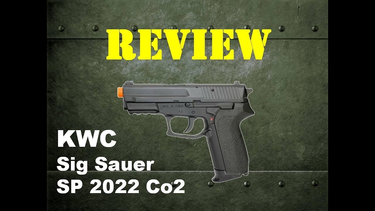 Évaluation de KWC Sig Sauer SP2022 CO2 – Osok Tactical Team