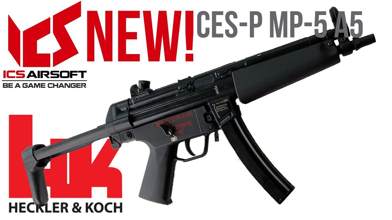 Le * NOUVEAU * ICS MP5 VAUT-IL?! 🤔 Critique ICS MP5 CES-P
