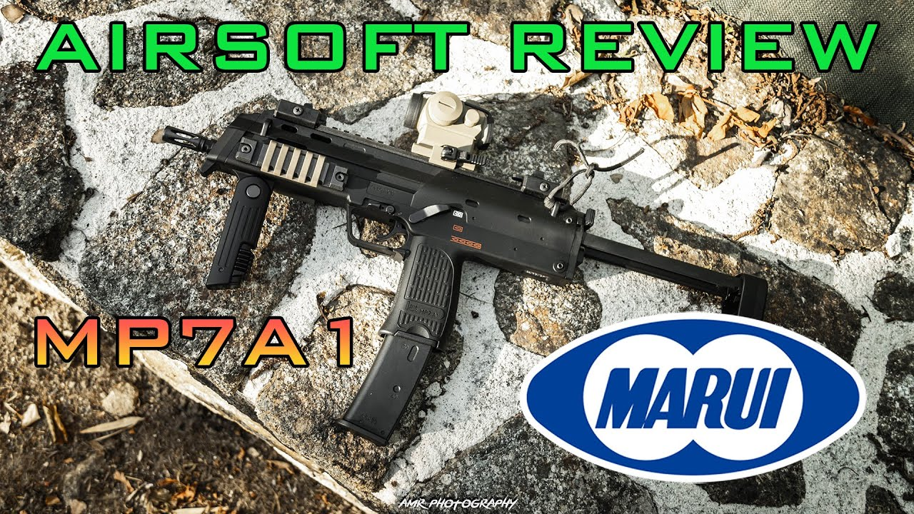 Airsoft Review #8 MP7A1 GBBR Tokyo Marui