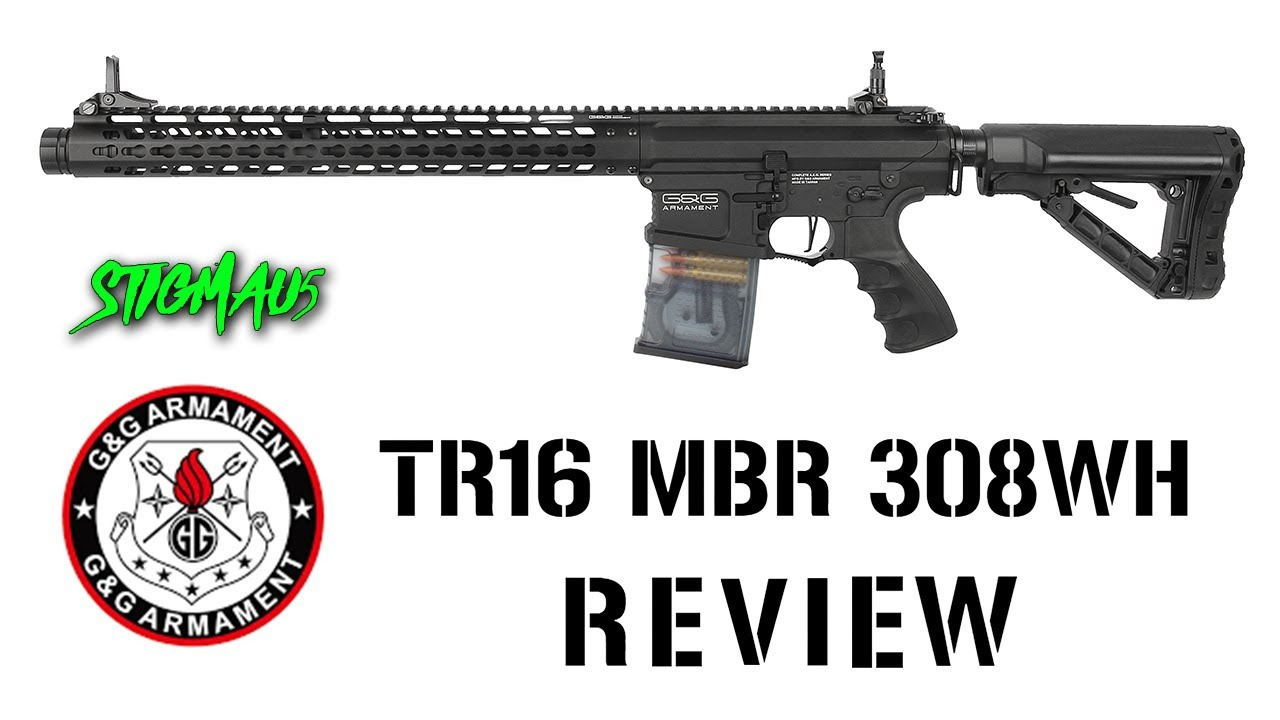 IM DISAPPOINTED / G&G TR16 MBR 308WH Airsoft Rifle Review / Stigmau5