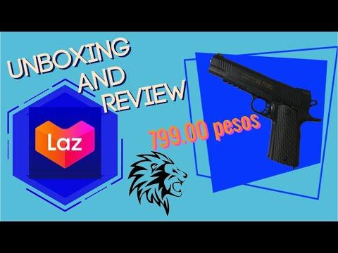 Pistolet Airsoft à ressort K35DA + de LAZADA | Déballage et révision