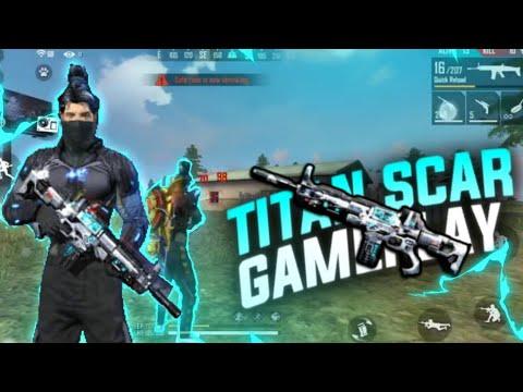 TITAN SCAR FULL GAMEPLAY TOTAL 19 KILLS 11 HEADSHOTS