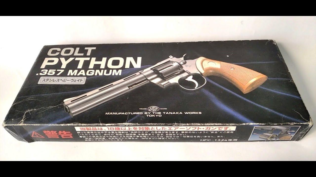 (Airsoft Indonesia) Un examen du revolver à gaz Tanaka Colt Python