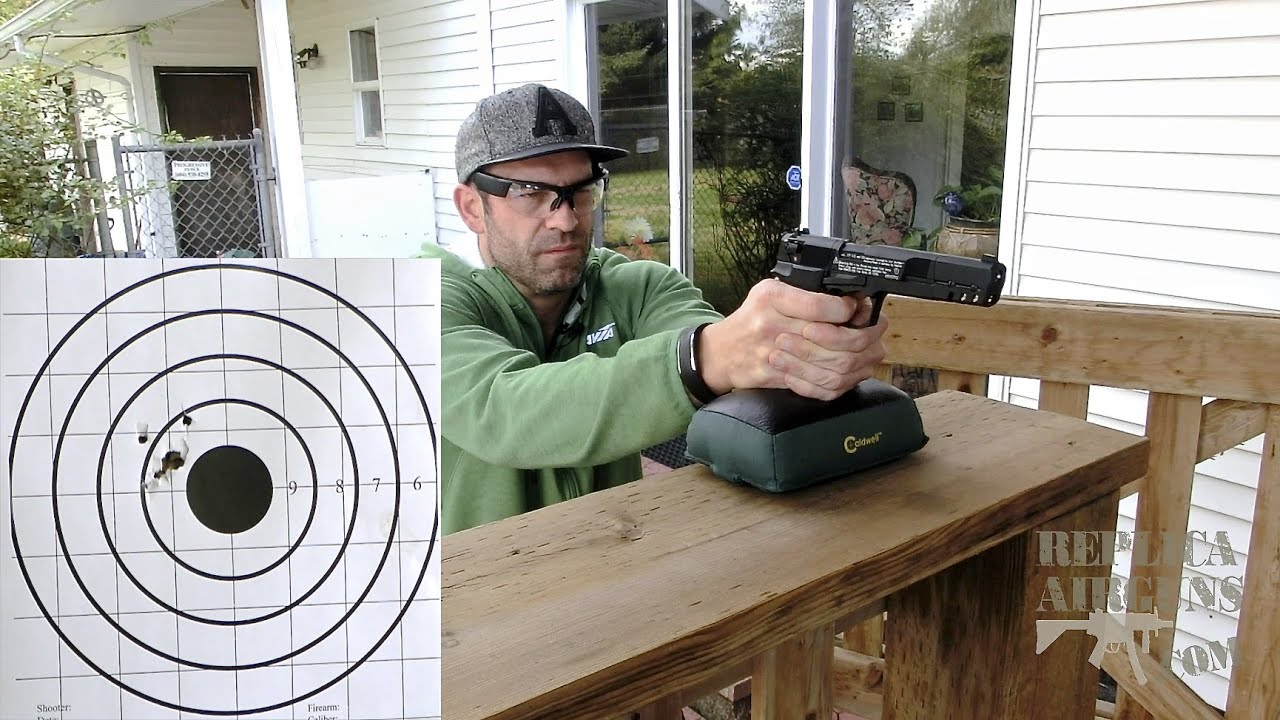 Walther CP88 Competition CO2 .177 Calibre Pellet Pistol Field Test Shooting Review