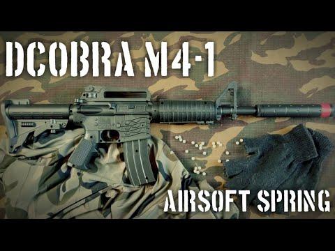 dcobra m4-1spring   avis airsoft indonésien