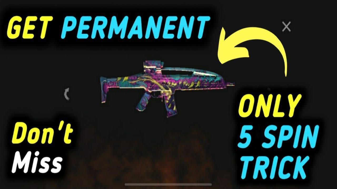COMMENT OBTENIR XM8 et UMP Double Rate Of Fire Skin PERMANENT en SEULEMENT 5 SPIN DOIT REGARDER