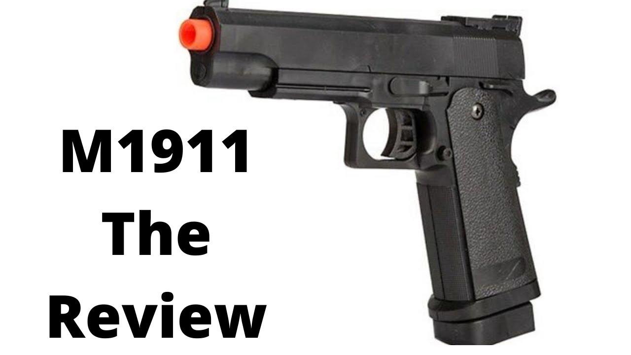 Revue du pistolet airsoft M1911