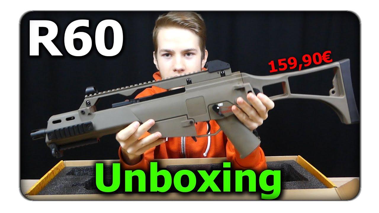 [Unboxing] Armement Armée R60 (G36C) GBB | € 159,90