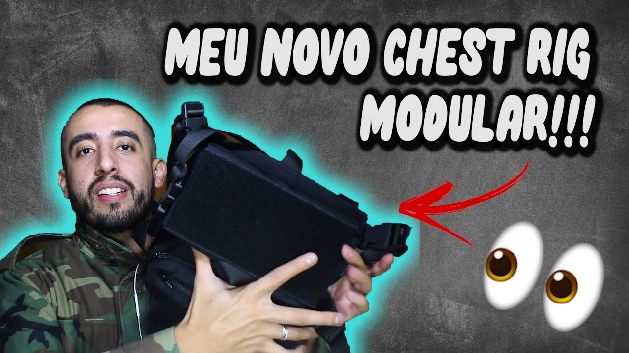 PQP! Engrenage modulaire CHEST RIG RAPTOR GEAR: Airsoft Review