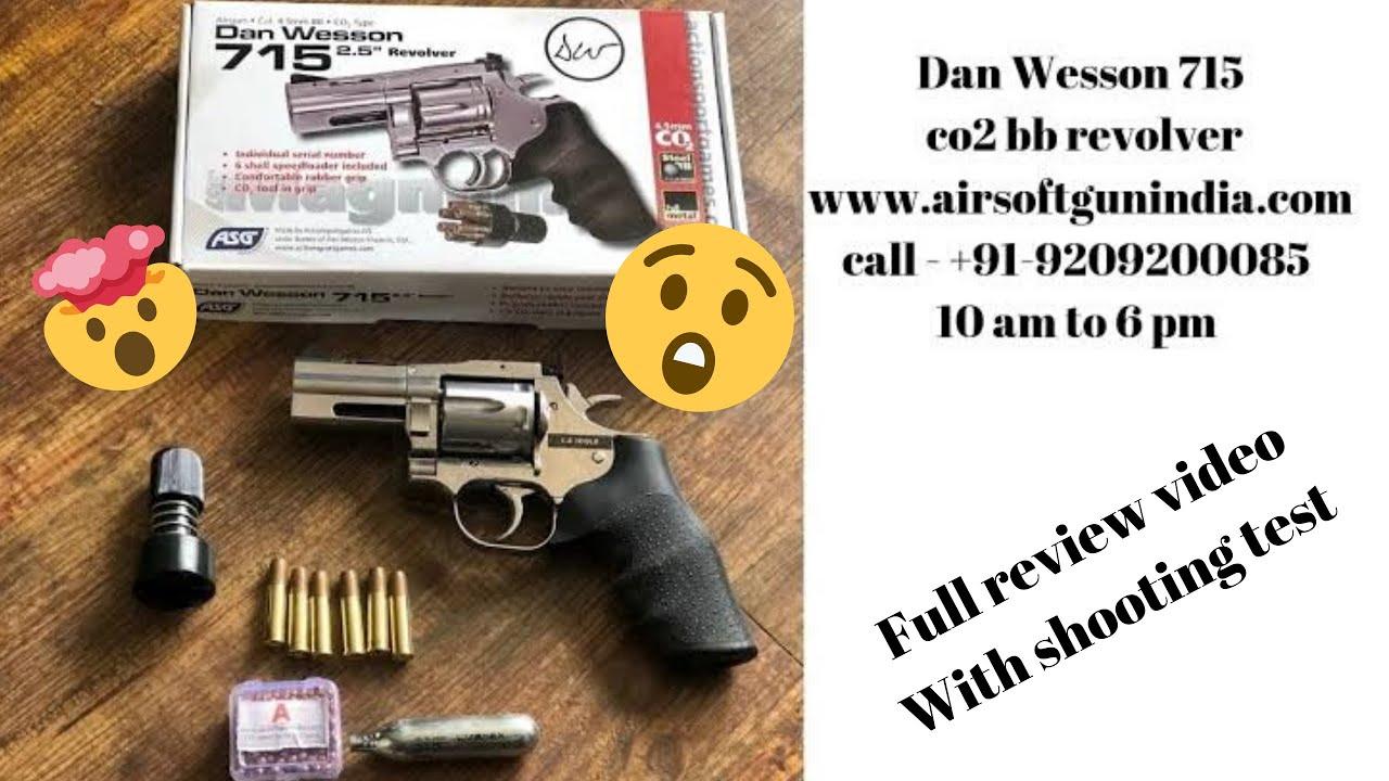 Test complet du pistolet à air comprimé Dan Wesson 715 BB CO2