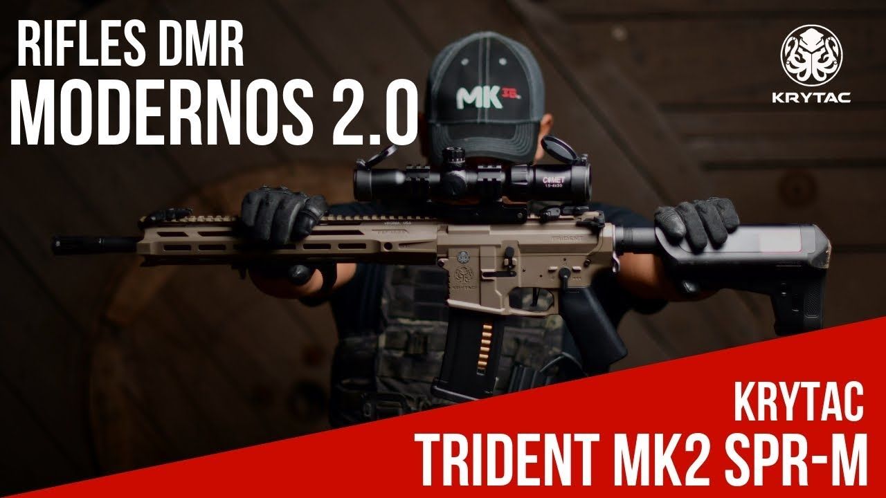 MODERN DMR RIFLES 2.0 – KRYTAC TRIDENT MK2 SPR-M – AVIS AIRSOFT EN ESPAGNOL