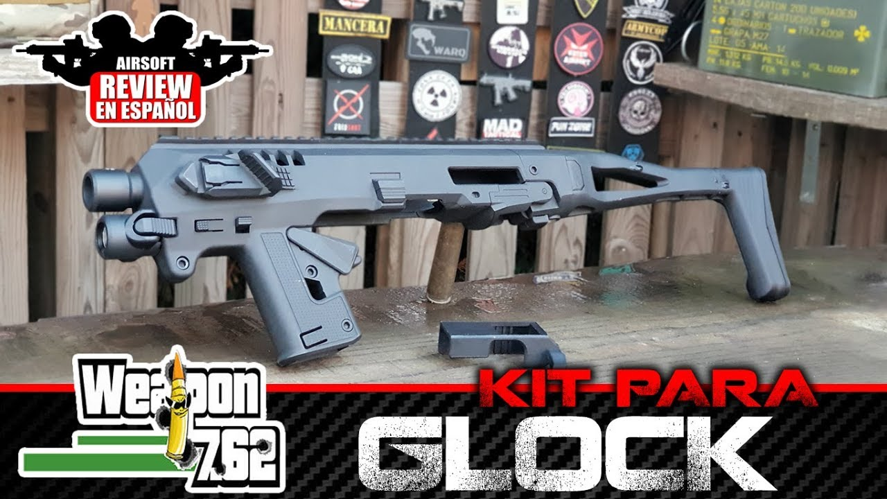 KIT pour GLOCK type RONI de WEAPON762 | Revue Airsoft en espagnol