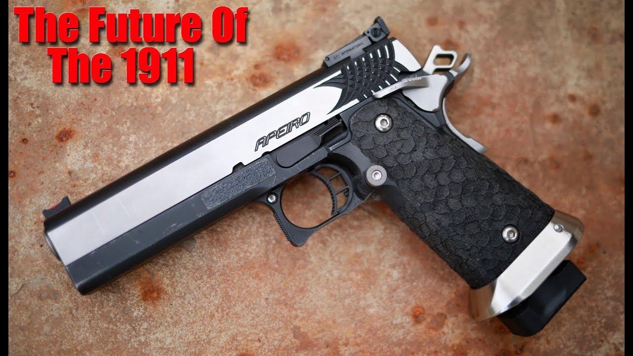 Revue du pistolet STI Apeiro 2011: L'arme de poing ultime?