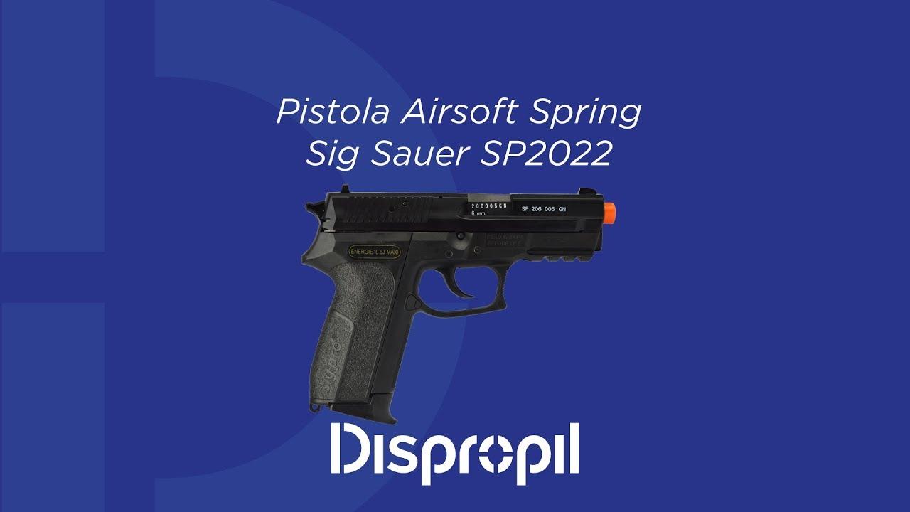Évaluation de Sig Sauer SP2022 Airsoft Spring Pistol