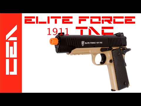 Revue du pistolet Airsoft – Elite Force 1911 Tactical