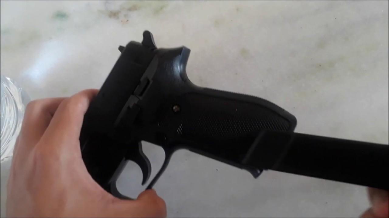 Test Airsoft Spring Sig Sauer P226 Cybergun
