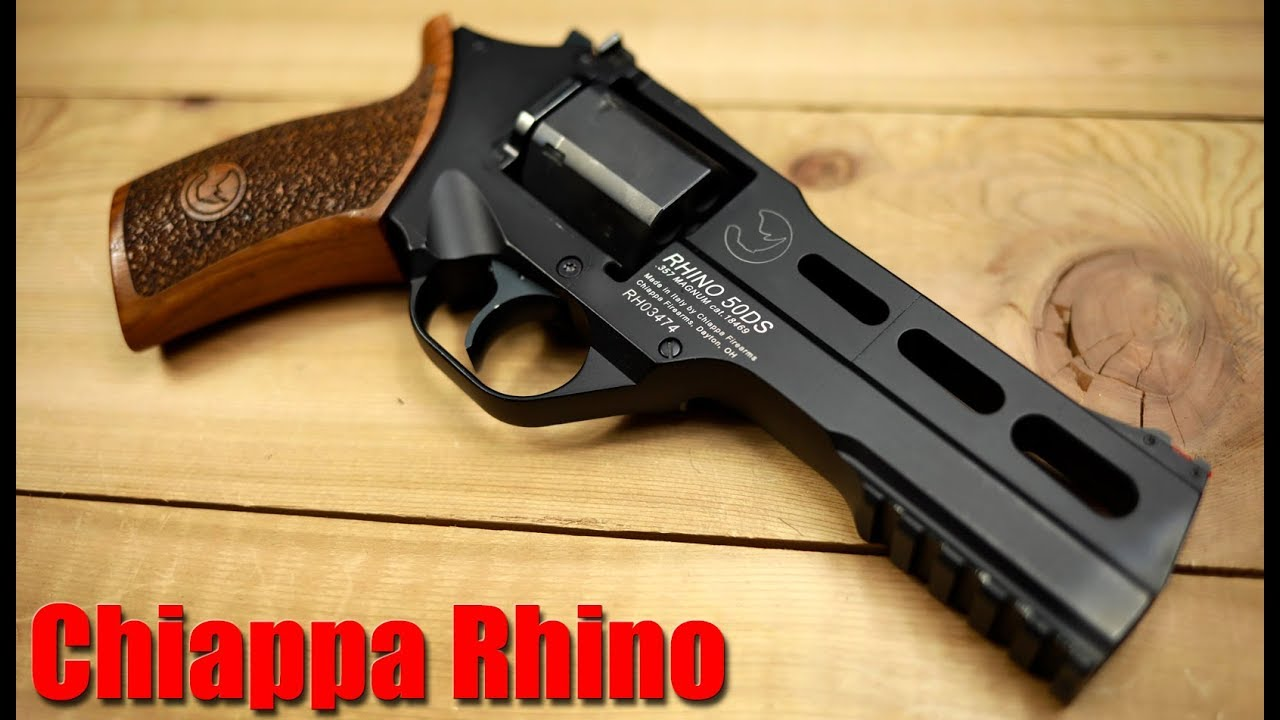 Chiappa Rhino 50ds 357 Magnum Revolver Premiers coups
